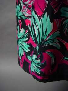 2B Bebe Pink Ombre Exotic Tropical Floral Print Smocked Tube Long Maxi