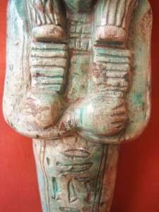RARE Antique Egyptian Ushabti of Ancient Middle Kingdom Funerary