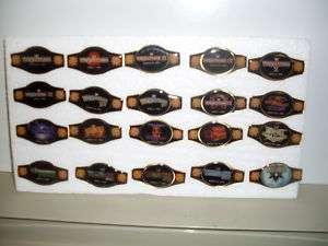 WRESTLEMANIA PIN SET 20 PINS 1985   2004