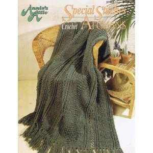 Special Stitches Afghans   Crochet (Annies Attic 87A93