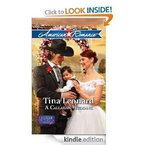 Callahan Wedding (Harlequin American Romance): Tina Leonard: