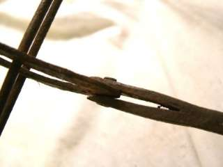 Original Antique 18 C Hand Forged Cast Iron Colonial Hearth Swiveling