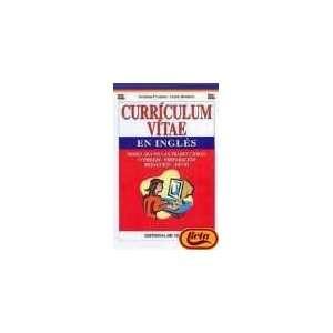 Curriculum Vitae En Ingles (Spanish Edition)