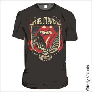 Rolling Stones T Shirt 40 Licks Distressed Print