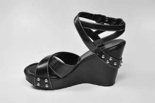 HARLEY DAVIDSON Lorie Ann Black Women Size Casual Wedges Sandals 82326