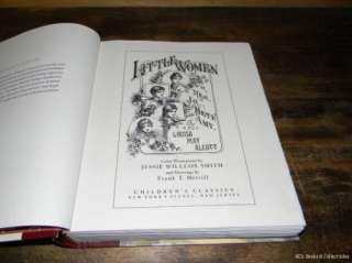 Little Women HC Alcott Illustrated by Jessie W Smith