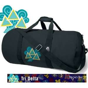 Tri Delta Dolphin Design Duffel Bag Official NCAA Logo Tri