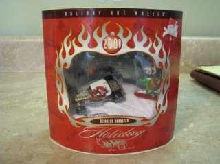 HOLIDAY HOT WHEELS Christmas REINDEER ROADSTER 2000