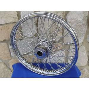 21X2.15 80 SPOKE TWISTED FRONT WHEEL FOR 1984 99 HARLEY