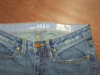Girls GAP Kids 1969 Skinny jeans size 12 Slim