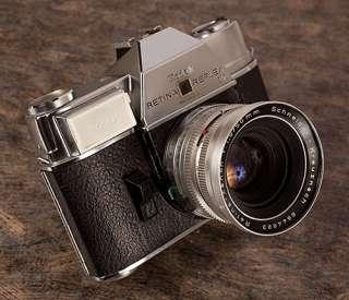 KODAK Retina Reflex IV 35mm Camera w/ original box, manual