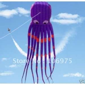 alien attack 8m huge monster octopus parafoil kite flying
