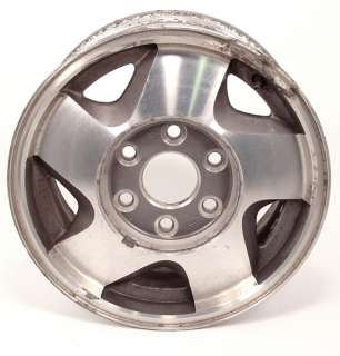 16 CHEVY TAHOE MACHINED FACTORY OEM WHEEL 95 06 #5015