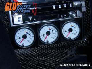 52mm UNIVERSAL TRIPLE DIN RADIO GAUGE DASH POD