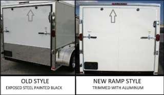 NEW 8.5x20 ENCLOSED CARGO TRAILER CAR HAULER V NOSE, MOTORCYCLE, ATV