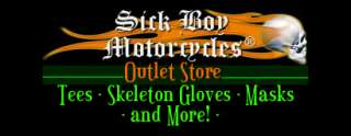 SickBoy Motorcycles biker tees, biker shirts items in SickBoy