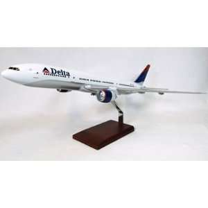 Delta Air Lines B777 200 Model Airplane Toys & Games