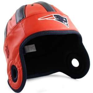 NFL New England Patriots Faux Leather Helmet Head (Red