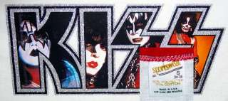 VTG 70S KISS ARMY Rock Concert DYNASTY Tour NOS TShirt