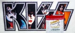 VTG 70S KISS ARMY Rock Concert DYNASTY Tour NOS TShirt