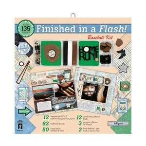 Page Kit 12X12   Baseball by Hot Off The Press Arts, Crafts & Sewing