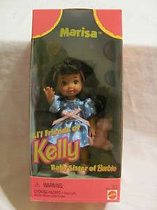 FRIENDS OF KELLY BABY SISTER BARBIE DOLL 18036 16058 1997 LIL