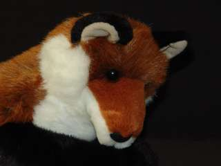 NEW PLUSH LIFELIKE DOUGLAS ROXY RED FOX STUFFED ANIMAL SOFT LOVEY PELT