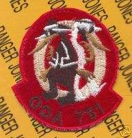 7th Special Forces Grp Airborne ODA 751 OEF SFGA patch