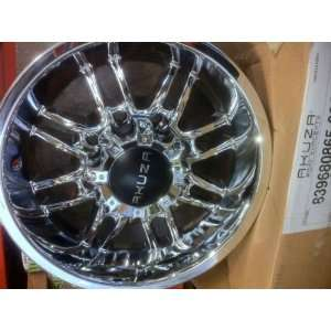 16 INCH CHROME AKUZA WHEELS, RIMS 8x6.5 CHEVROLET K2500, GMC, DODGE