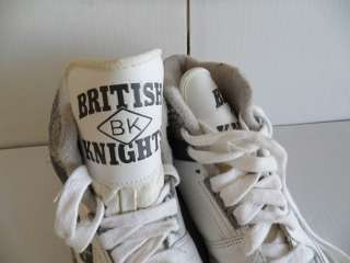 Deadstock Vtg 90s BRITISH KNIGHTS Hip Hop Sneaker Shoes Nike 90s