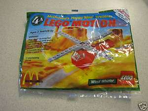 McDonalds Happy Meal Lego Toy 4A 1989 Wind Whirler