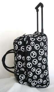 20 Duffel/Tote Bag Rolling Luggage/Wheels Travel Peace
