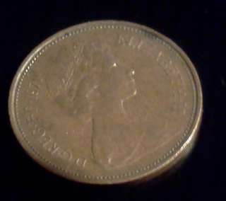 Great Britain 2 New Pence 1971 coin QEII ♕ See these pics