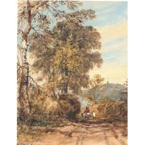 com Hand Made Oil Reproduction   David Cox   32 x 42 inches   Dudley