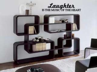 LAUGHTER Music of the Heart Vinyl Wall Art Decal Home