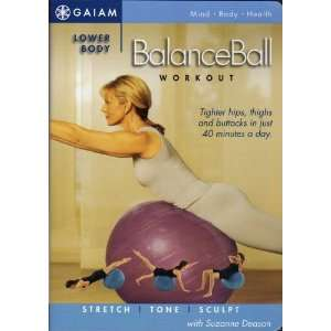 com Lower Body Balanceball Workout   With Suzanne Deason Movies & TV