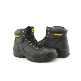 CAT CATERPILLAR 89665 Safeguard Lace ST Mens SZ 12 Black Boots Work