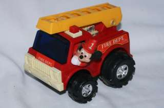 Mickey Mouse Fire Truck, Illco Industries
