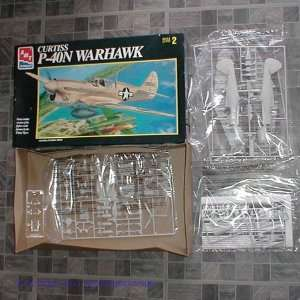 AMT Ertl Curtiss P 40N Warhawk Model new 1995 Everything Else
