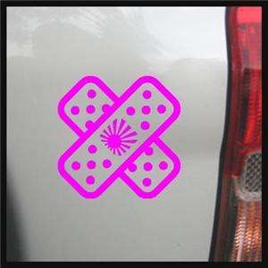 Band Aid Decal, JDM Rising Sun, Cool Accident Cover Up,