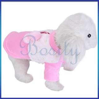 Pet Dog Coat Suit Dress Clothes Apparel Warm New All Sz