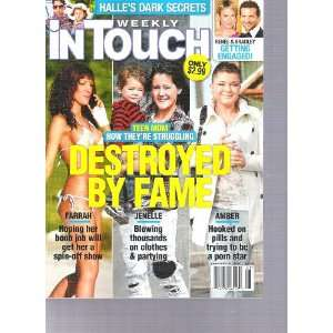 In Touch Weekly Magazine (Teen Moms destroyed by fame