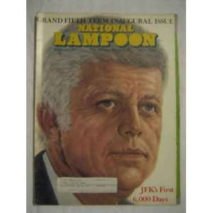 National Lampoon V.1 #83 Feb. 1977 JFKs First 6000 Days