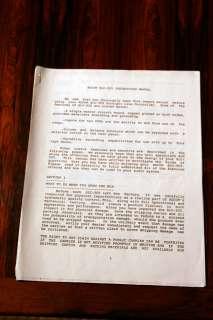 Adcom SLC 505 Preamplifier Owners Manual *Original*