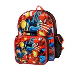 Marvel Backpack and Lunch Box Combo Toys & Games