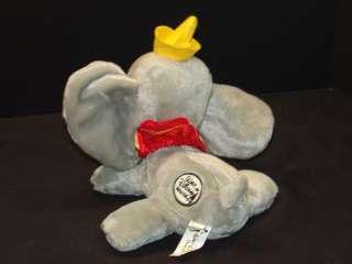 WALT DISNEY WORLD VACATION GRAY BABY CIRCUS ELEPHANT DUMBO PLUSH
