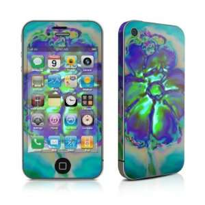 Amys Flower Design Protective Skin Decal Sticker for Apple iPhone 4