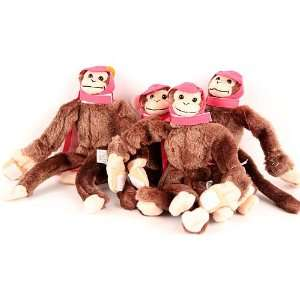 Licensed Helmeted Super Fly Monkey 4 Pack   Pink: Sports & Outdoors