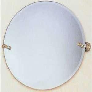 Allied Brass Mirrors DT 90 22 Round Tilt Beveled Mirror Polished Gold