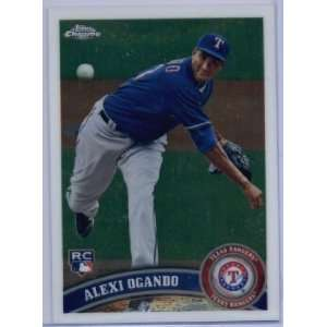 2011 Topps Chrome #188 Alexi Ogando RC   Texas Rangers (RC
